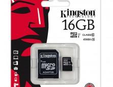 tarjeta de memoria microsd
