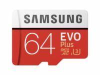 Tarjeta de memoria microSD 64Gb / 128Gb