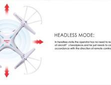 drone Syma X5SC con modo Headless