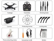 drone syma x5sw fpv accesorios