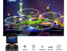 Drone JJRC H8D FPV HD verde