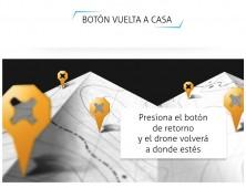 Botón retorno drone FPV