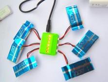 cargador mu¦ültiple bateri¦üas wltoys v686g