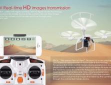 drone mjx x101 FPV tiempo real