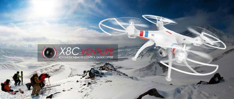 drone syma x8c blanco venture hd