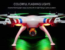 drone syma x8c luces