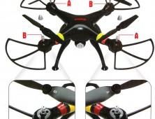 drone syma x8c posicio¦ün he¦ülices