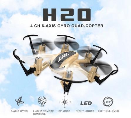 mini drone jjrc h20 dorado 6 motores