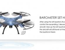 Drone Syma X5HW X5HC Barómetro HD