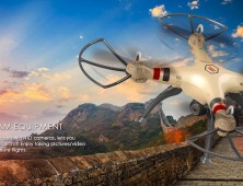Drone Syma X8HC X8HW HD barómetro