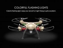 Drone Syma X8HC X8HW luces