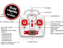 Drone Syma X8HC X8HW manual en español
