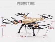 Drone Syma X8HC X8HW medidas