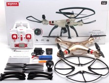 Drone Syma X8HC pack accesorios