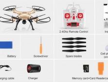 Drone Syma X8HW camara wifi