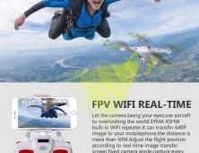 Syma X5HW FPV Wifi móvil