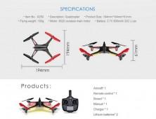 Drone XK Alien X250 cámara HD FPV