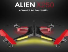 Drone XK Alien X250 luces led y barómetro