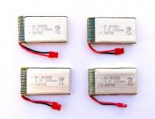 4 Baterías 1200 Syma X5HC X5HW