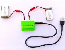 Baterías Syma X5HC X5HW + cargador múltiple