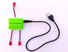 Cargador múltiple 3 baterías Syma X5HC X5HW