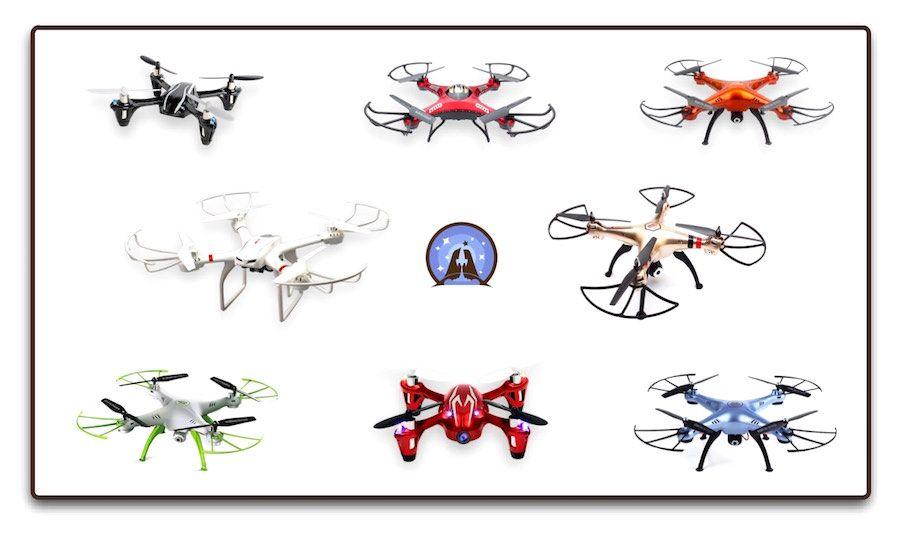 Drones para principiantes o de iniciación, Hubsan, JJRC, Syma, MJX