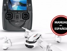 Drone Hubsan X4 H502S, con barómetro, GPS, followme o sígueme y aterrizaje automático Manual Español