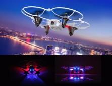 drone-syma-x11c-leds-vuelo-nocturno