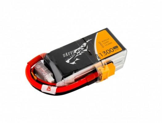 Bateria para drone de carreras LiPo Tattu 1300 75c 14.8V