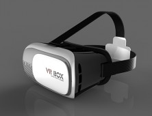 Gafas Realidad Virtual VR Box: Lateral