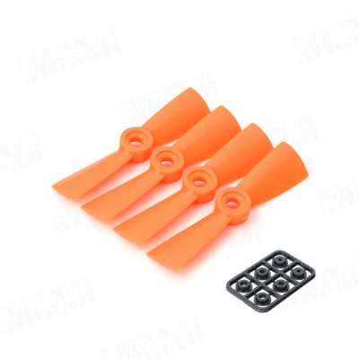 helices 3045 naranjas diatone para drone de carreras FPV