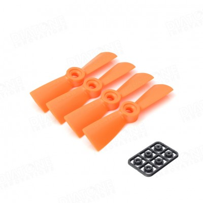 palas 3045R naranjas diatone para drones de carreras FPV