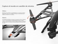 Drone Yuneec Q500 Typhoon helices facil yuneec españa