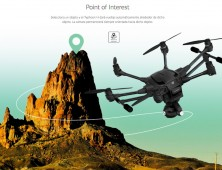 Modo Point of Interest del Drone Yuneec Typhoon H 4K pro
