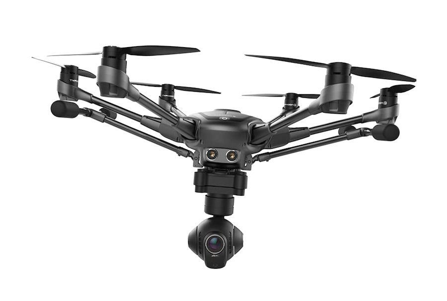 Drone Yuneec Typhoon H 4K pro Intel Rea Sense Control ST16