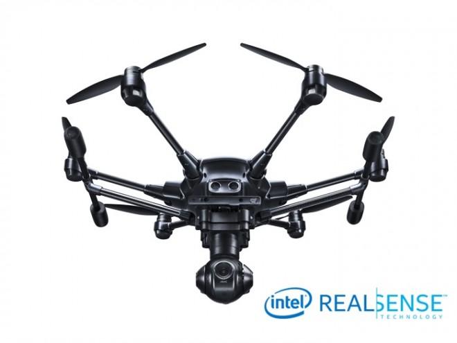 drone Yuneec typhoon H con deteccion de obstaculos