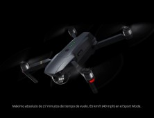 Drone DJI Mavic Pro tiempo de vuelo