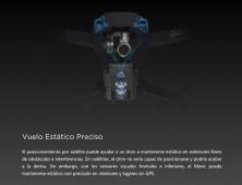 Drone DJI Mavic Pro vuelo estático