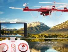 Drone FPV X5UW vision en el movil