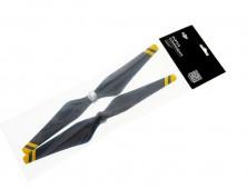 Hélices DJI Phantom 3 – Reforzadas fibra carbono amarillas