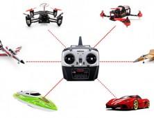 emisora T8FB para racing drones 600