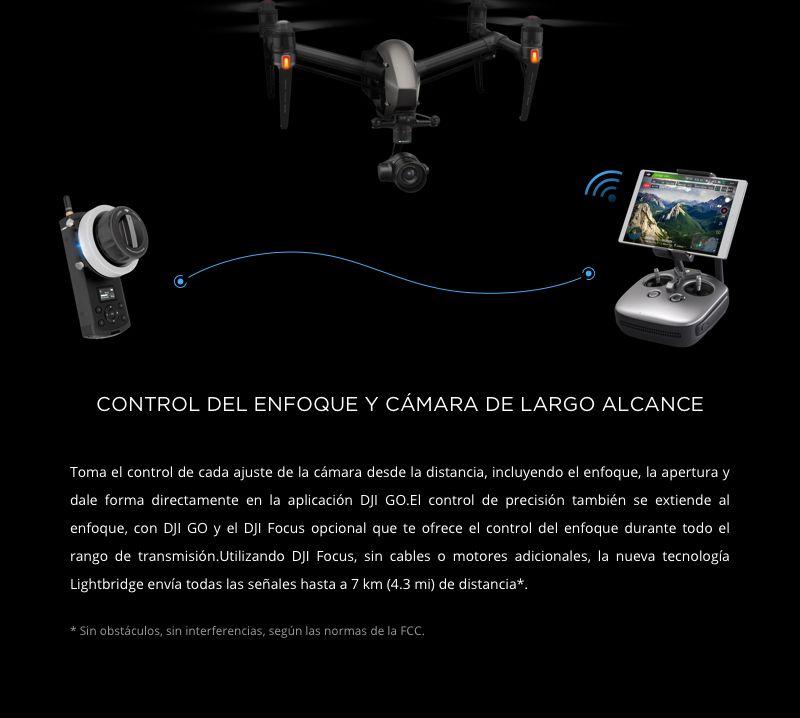 Cámara DJI Zenmuse X5S - Control remoto