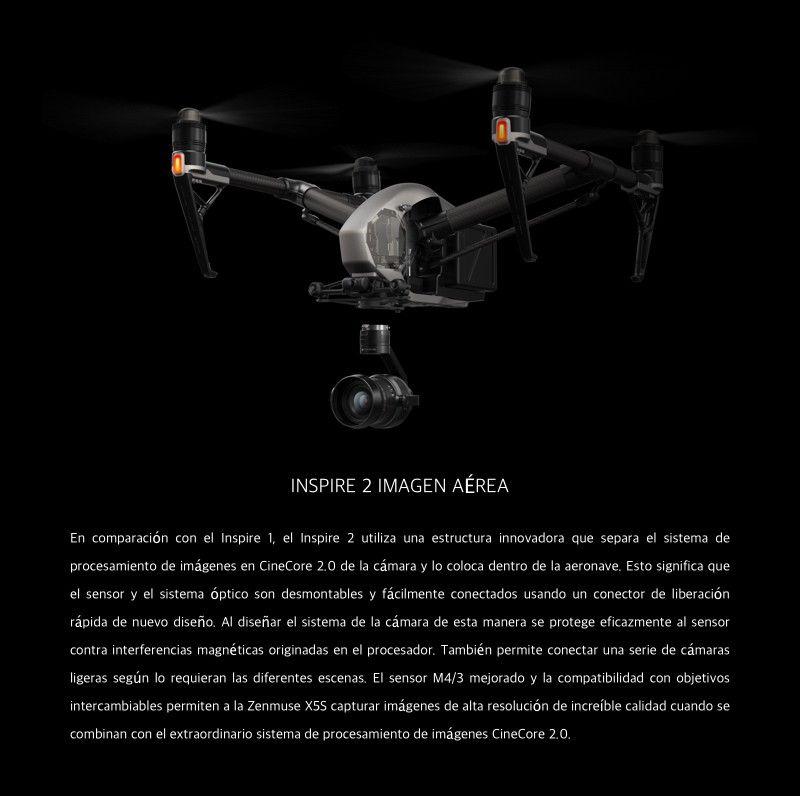 Cámara DJI Zenmuse X5S -Imagen aerea