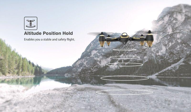 Modo Altitude del multicoptero FPV Hubsan X4 H501S UHD