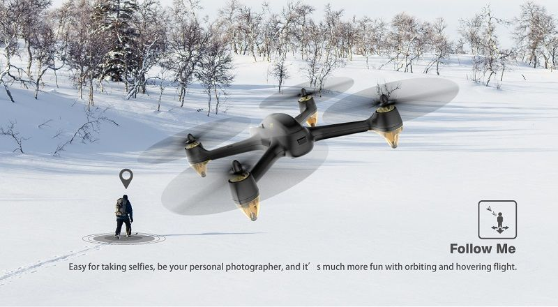 Modo FollowMe del drone FPV Hubsan X4 H501S UHD
