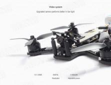 camara FPV del drone de carreras diatone tyrant s