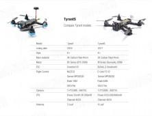 comparativa drones FPV diatone tyrant