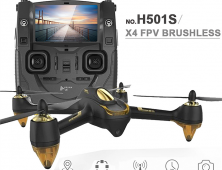 drone FPV Hubsan X4 H501S negro