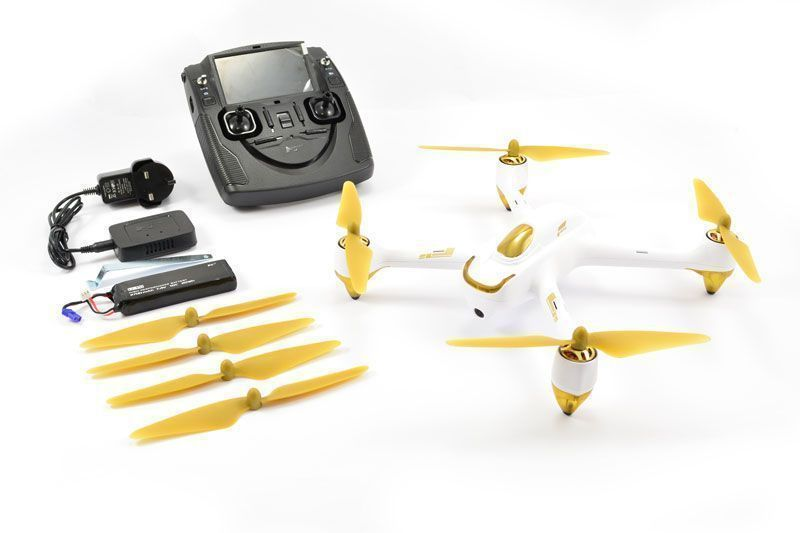 drone FPV Hubsan X4 H501S pack del multicoptero