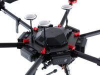 Antenas del multicoptero DJI Matrice 600 Pro